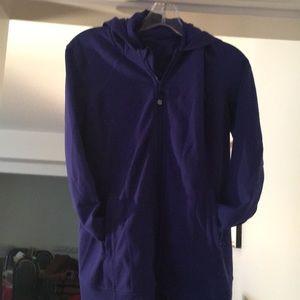 Lululemon....Violet Zipper Jacket